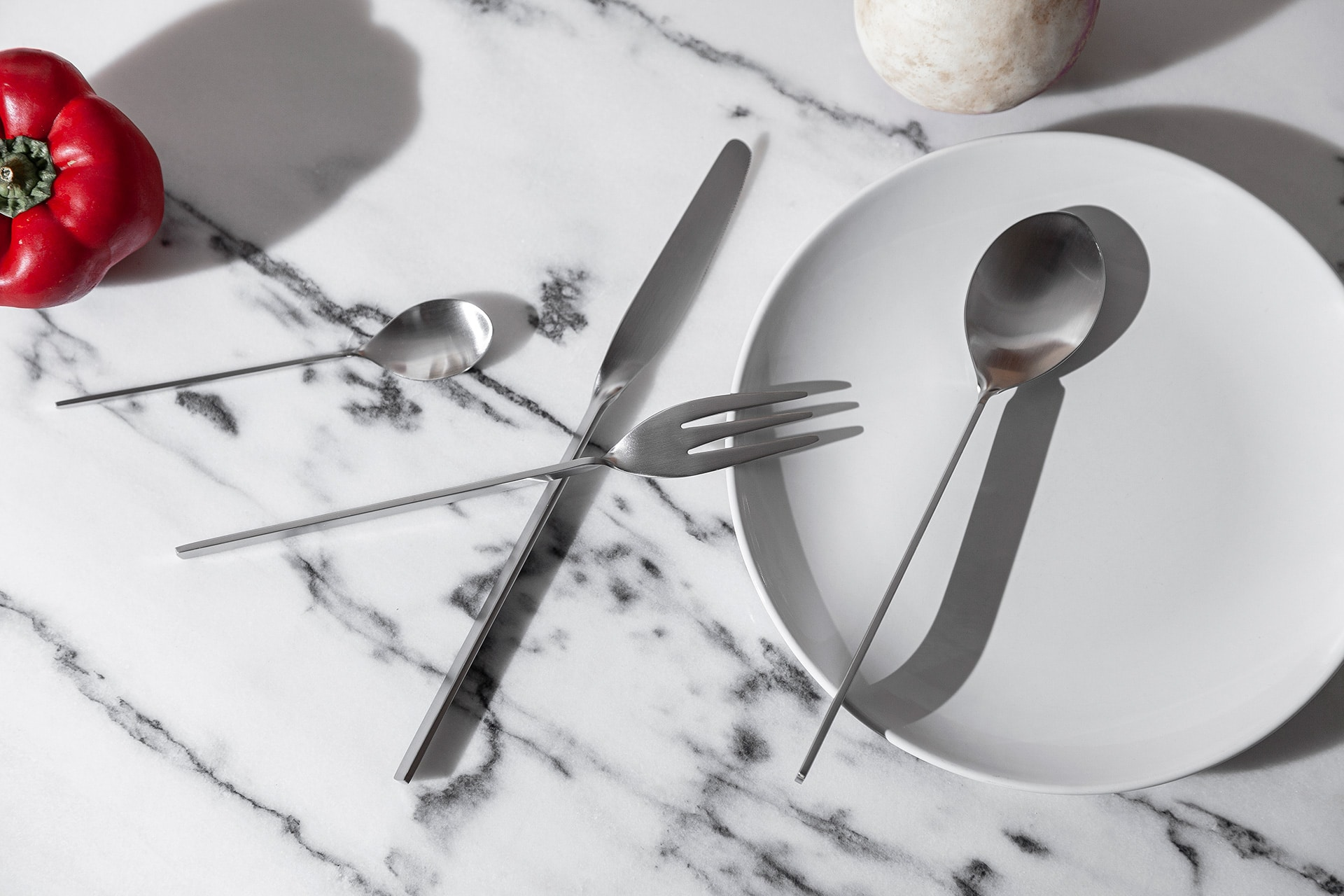Malmo_Cutlery_White Spoon