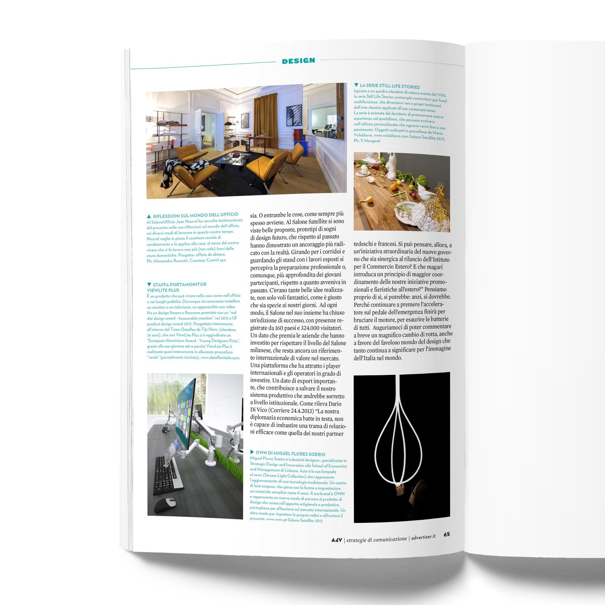Adv Page- DESIGN BY MIGUEL SOEIRO
