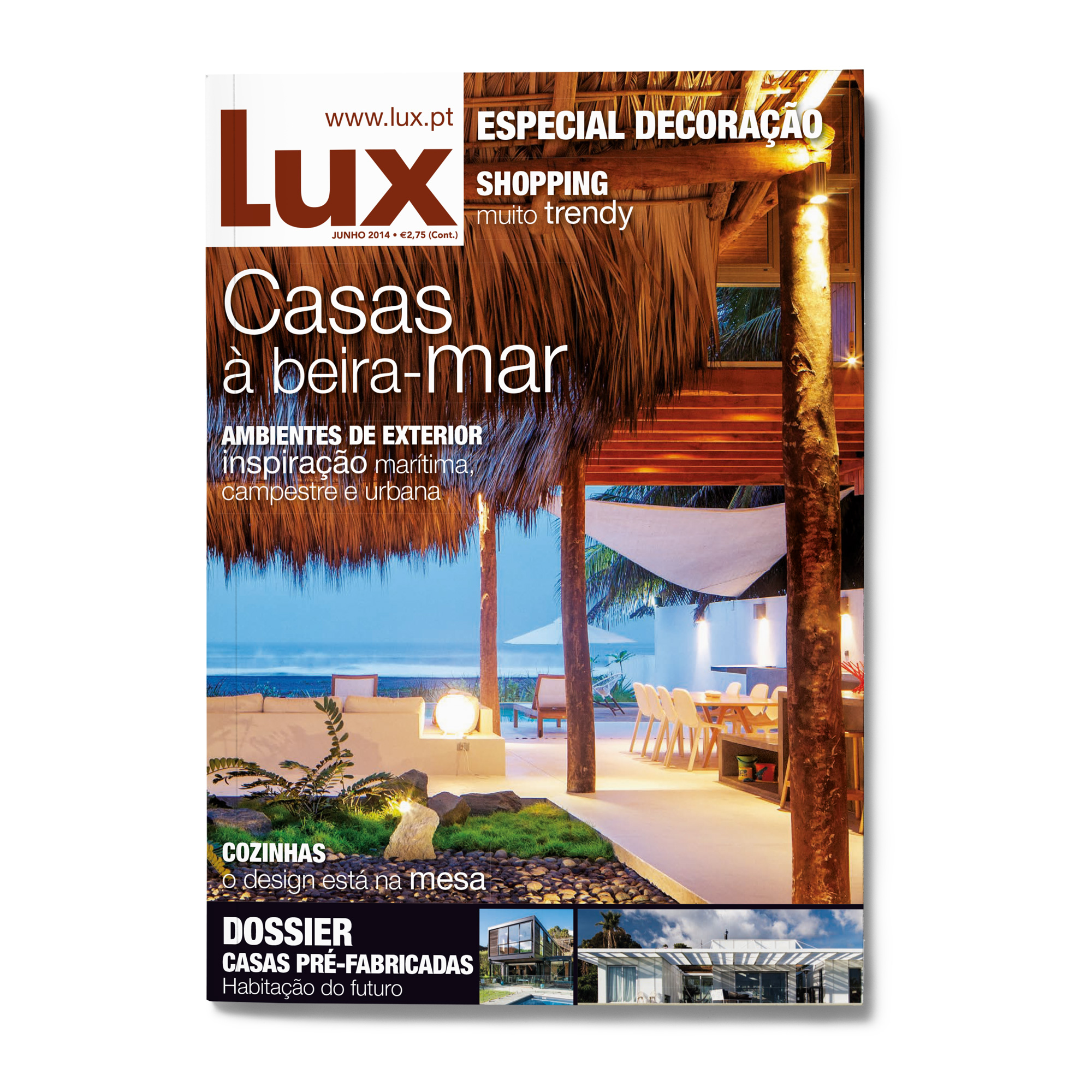 Lux Front Page casas - DESIGN BY MIGUEL SOEIRO