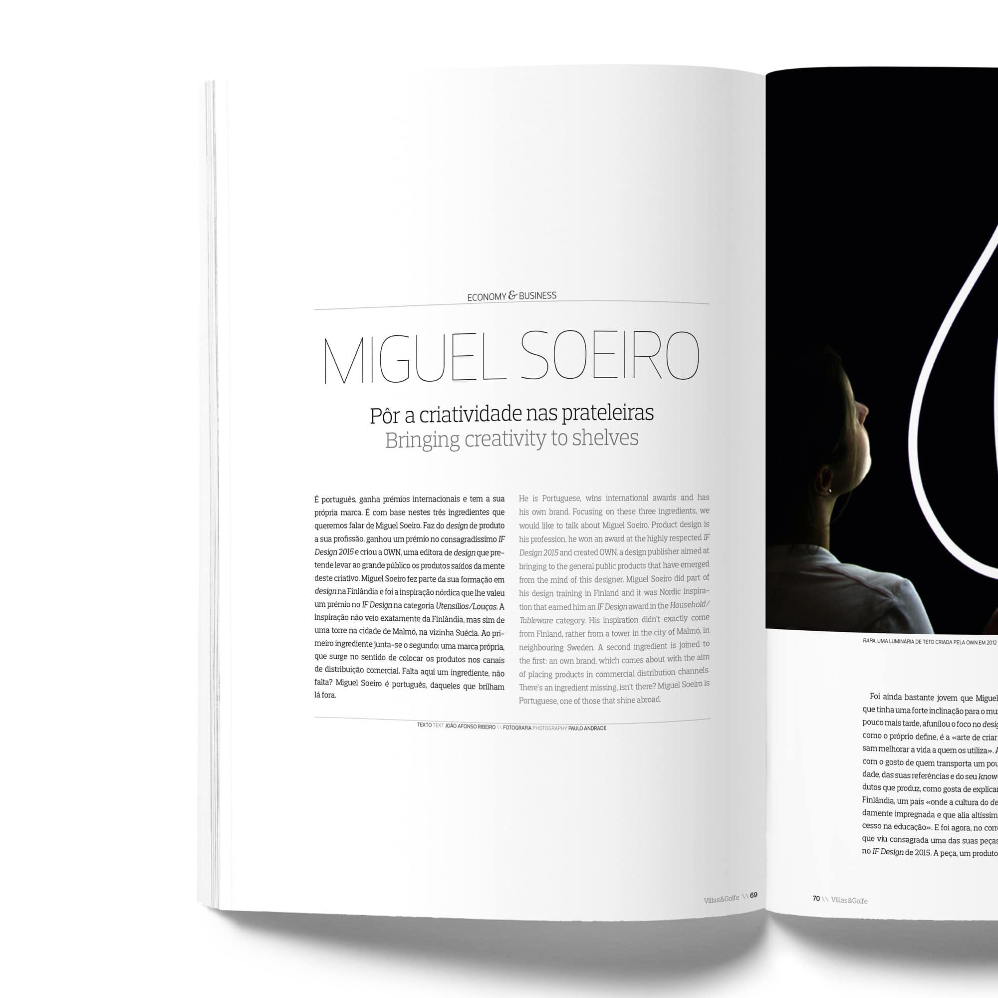 Villas & Golfe Inner Page - DESIGN BY MIGUEL SOEIRO