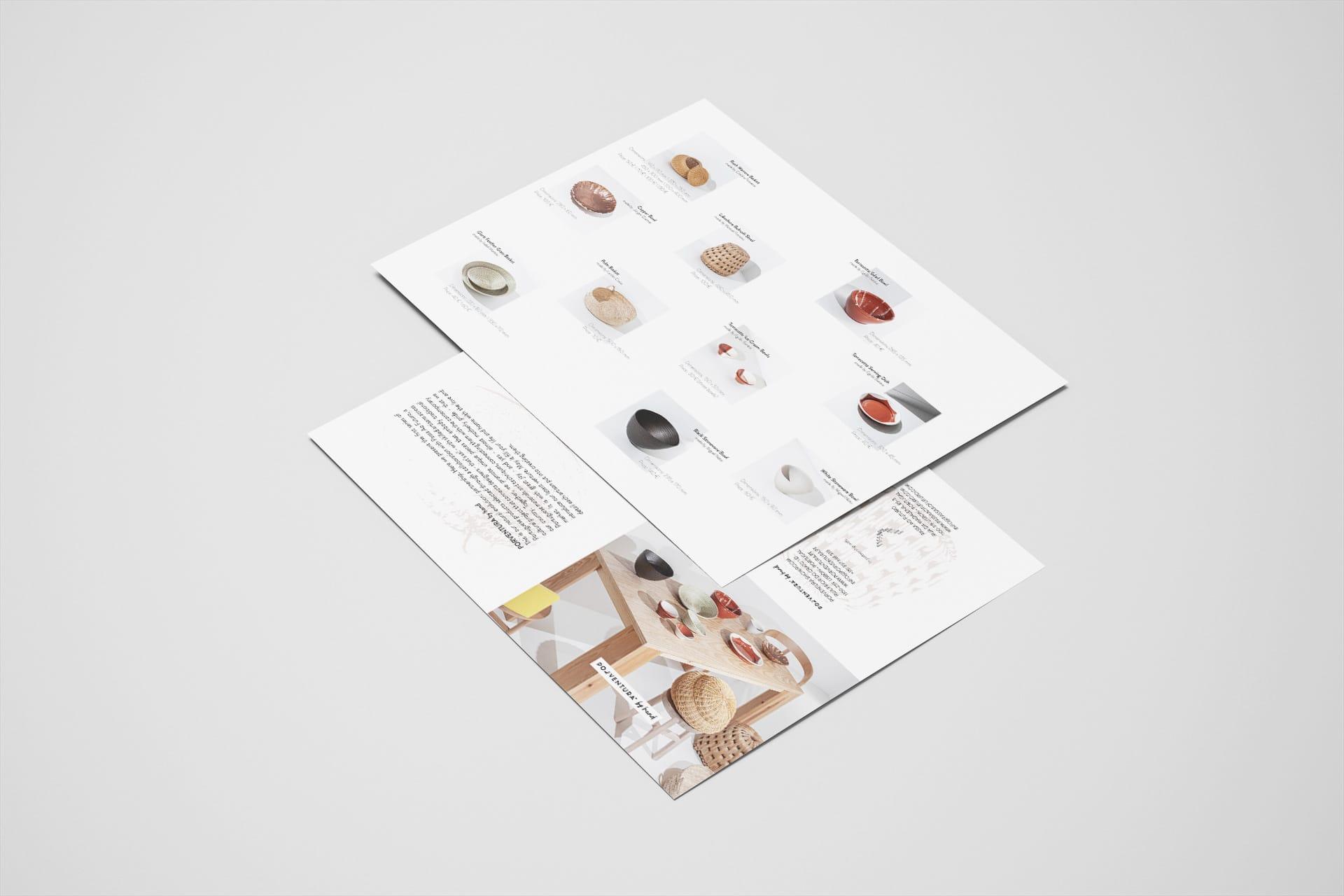 Brochura Porventurabyhand - DESIGN BY MIGUEL SOEIRO