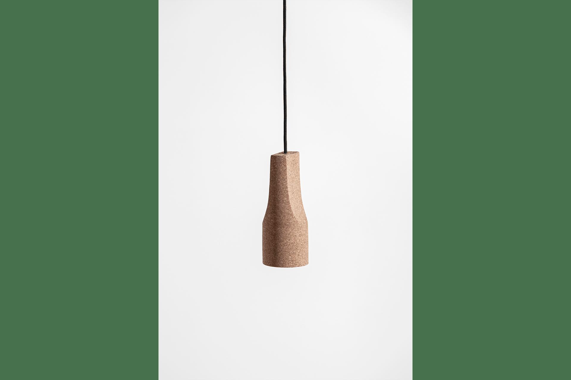 Cork Hanging Lamp - DESIGN BY MIGUEL SOEIRO