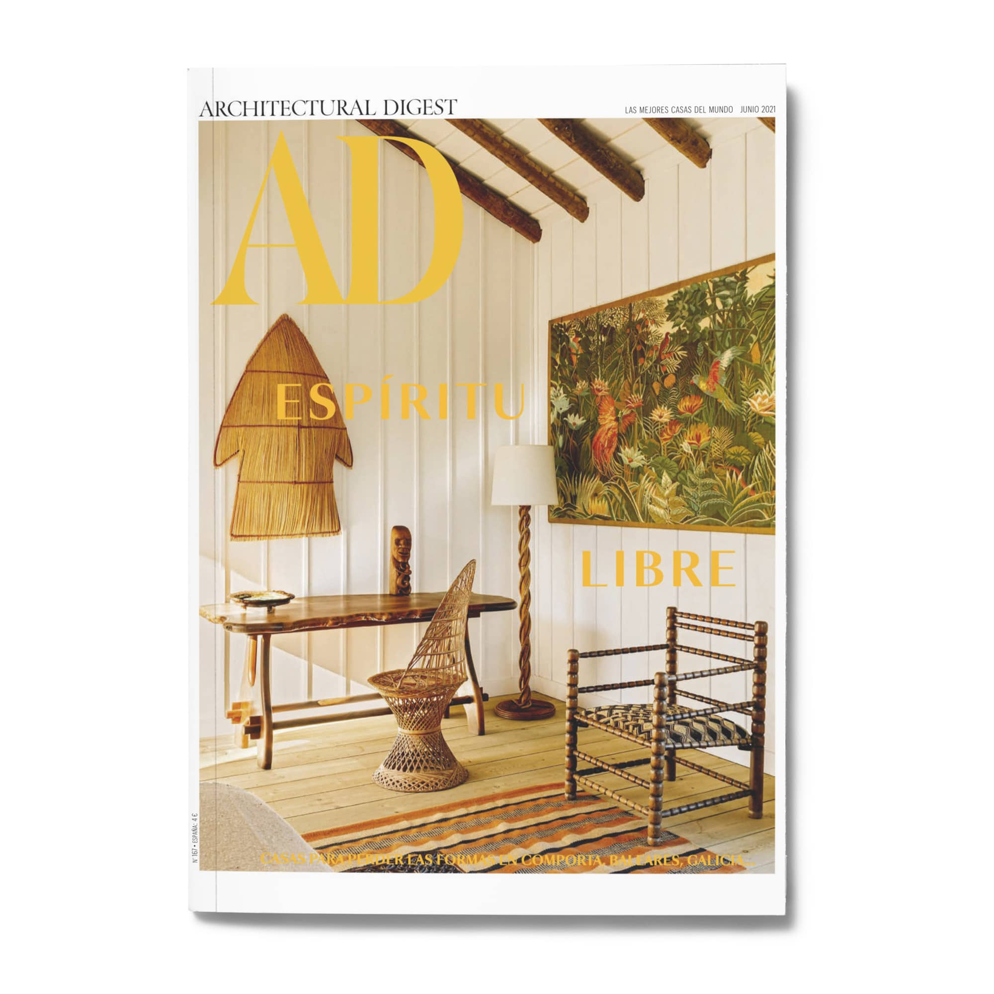 Architectural Digest - DESIGN BY MIGUEL SOEIRO